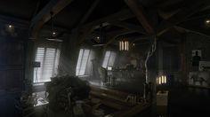 Новые арты Deus Ex: Mankind Divided — апартаменты Дженсена - Shazoo