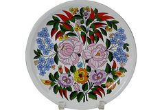 Hungarian Porcelain Wall Plate on OneKingsLane.com