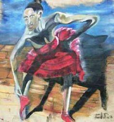 Havana olio su tela 1999 dimensioni cm 200 x 200 VENDUTO - PRIVATO
