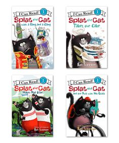 Look at this Splat the Cat Reader Paperback Set on #zulily today!