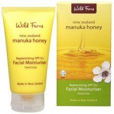 Manuka Honey Replenishing SPF15+ Facial Moisturiser Wild Ferns http://www.amazon.com
