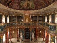 Another view of the amazing  Wiblingen Monastary Library, Ulm, Germany