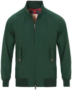 Baracuta G9 Original Harrington Jacket Racing Green hos CareOfCar