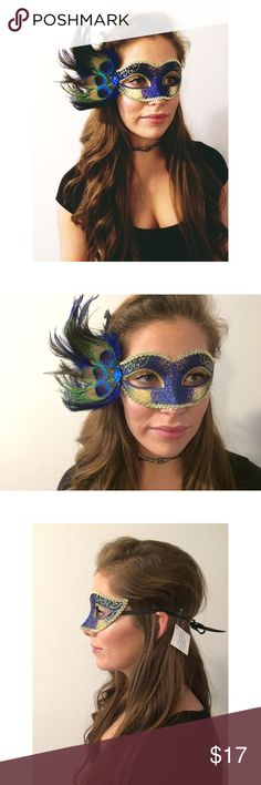MARDI GRAS🎭🎉 Venetian Mask ONLY 3 LEFT‼️ NWT! Retail from The Purple Temple! Never worn, only tried on for pictures. Absolutely BEAUTIFUL! Handmade so each one may have very slight variations. Durable and comfortable. Adult size. One size. Get your mask for the MARDI GRAS festivities!!! Or for a party you and your friends may be going to! Ask questions. Free People Accessories