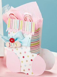 Stocking Gift Bag, Christmas Crafts