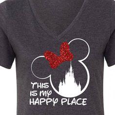 This Is My Happy Place Disney T-Shirt / Disneyworld /