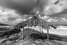 The Surfer's Shack at Windansea Beach. La Jolla, California, United States. © Joseph S. Giacalone—All rights reserved. #buyprints #lajolla #fineartamerica #blackandwhitephotography
