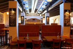 Located in a calmer street of the city center, Mestiansky pivovar is a pub of huge size, great cuisine and delicious tank beer. Combination of wooden furnit Bratislava, Conference Room, Home Decor, Decoration Home, Room Decor, Home Interior Design, Home Decoration, Interior Design