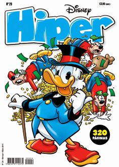 Leituras de BD/ Reading Comics: Lançamento Goody: Hiper-Disney #29