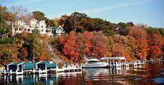 Why You Should Make Lake Geneva Your Next Weekend Getaway via @PureWow