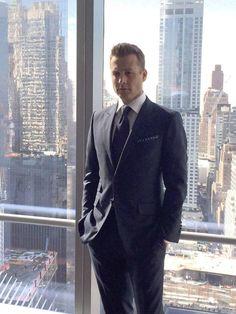 Gabriel Macht aka Harvey Specter filming the commercial for Ballantines in NYC #HarveySpecter  #GabrielMacht