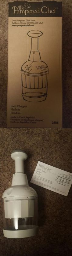 Choppers 178053: New Pampered Chef Food Chopper #2585 -> BUY IT NOW ONLY: $33.49 on eBay!