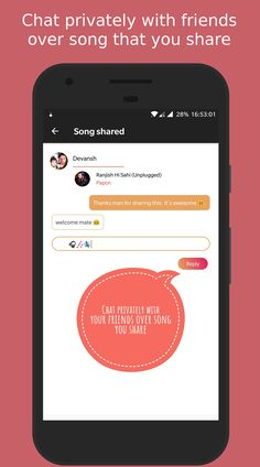 Swinguff - A way to share songs with your friends where u can chat over shared songs. #SocialMusicPlayer , #Chat #Swinguff , #Design #Android