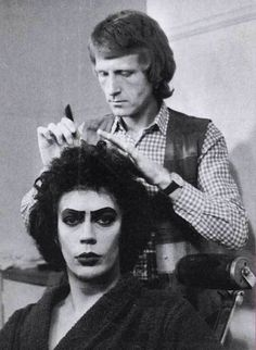 Franknfurter getting his hair did