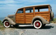Classic Car News Classic Trucks, Classic Cars, Woody Wagon, Panel Truck, Ford, Classic Motors, Automobile, New Trucks, Unique Cars