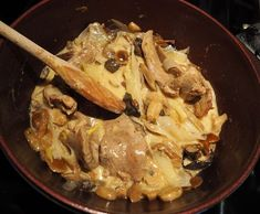 Aiguillettes de canard sauce forestière et plus   La passion au bout des doigts, le NOUVEAU blog !!!
