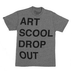 Art School Tee Pewter Tri-Blend, now featured on Fab.
