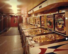Pinball Machine Arcade Vintage 1960's 8x10 Reprint Old Photo