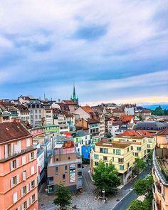 @sgturningpoint ✨✨✨Ah ce qu'elle est belle 😌 [Lausanne, Switzerland] #lifestyle #switzerland #blogger #korea #fashion #travel #haitian