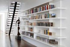 white bookcases - 3