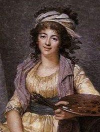 Ecofeminismo, decrecimiento y alternativas al desarrollo: Sencillo rococó, Marguerite Gérard (1761-1837)