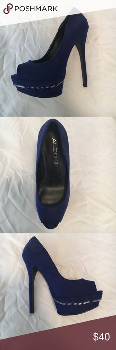 Aldo High heels Brand new Blue Aldo high heels Aldo Shoes Heels