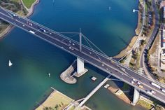 Westgate Bridge, Melbourne- Australia by Brett Price