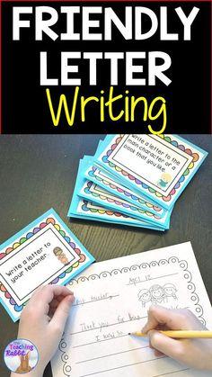 Write friendly lette