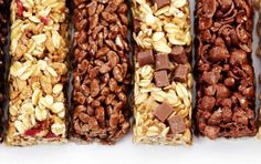 How can you tell if your go-to snack is a boost of nutrition or just a candy bar disguised as healthy food? An expert explains the differences so you can make the smart choice. Sweet Recipes, Whole Food Recipes, Dog Food Recipes, Vegan Recipes, Pumpkin Recipes, Fall Recipes, Healthy Snacks, Healthy Eating, Healthy Bars
