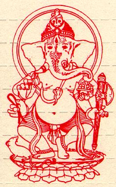 I love Hindu imagery, especially the God Ganesh #DDBChicagoBootcamp #Application
