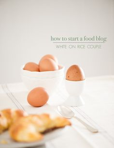 Food Blogging Basics: How To Start A Food Blog. Good tips all around for hosting, WP themes etc.