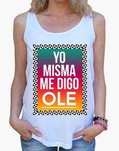 Camiseta chica Ole