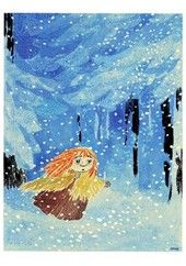 Tove Jansson - Moomin Midwinter, good read for January Totoro, Tove Jansson, Moomin Valley, Children's Book Illustration, Alice In Wonderland, Book Art, Fairy Tales, Artsy, Comic