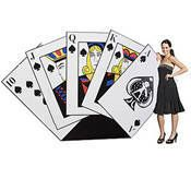 Hand of Cards Standee