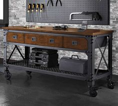 "BUYERS'  PICKS $299.99. Whalen Metal and Wood 72""L Workbench.  Item 707636.  Valid  Dec. 5 - 24, 2016. Item 707636 Accessories not included. Terms and Conditions apply."
