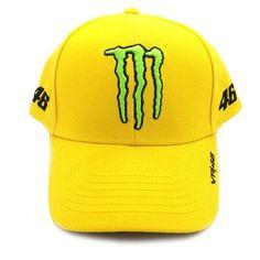 Valentino Rossi VR46 Monster Energy Sponsors Baseball Cap Official 2016  Monster Energy 0b435a66ab3