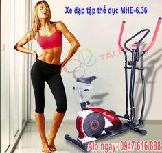 Xe đạp tập thể dục toàn thân MHE-6.36
