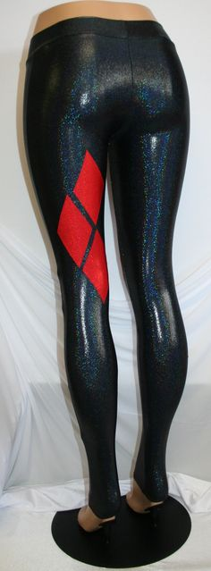 Harley Quinn Cosplay / Costume Leggings Meggings in by DillyDuds
