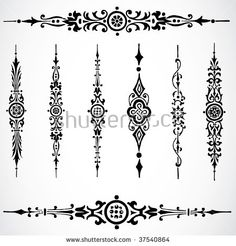 Find Vector Border Ornaments stock images in HD and millions of other royalty-free stock photos, illustrations and vectors in the Shutterstock collection. Cute Tattoos, Tatoos, Mehndi Designs, Tattoo Designs, Paisley Background, Stencils, Vector Border, Pinstriping Designs, Make Tattoo