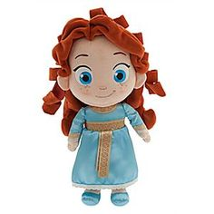 Disney Toddler Merida Plush Doll - Brave - Small - 13'' | Disney StoreToddler Merida Plush Doll - Brave - Small - 13'' - Soft and oh-so-huggable, Toddler Merida is always ready to play and bring adventure to your day!