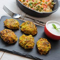 Chiftelute dovldecel Veggie Meatballs, Raw Vegan, Tandoori Chicken, Healthy Eating, Broccoli, Breakfast, Ethnic Recipes, Food, Thermomix