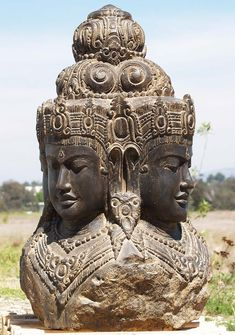 Take a journey and explore all of Lotus Sculpture's Brahma Statues. The Hindu God Brahma is one of the three main Hindu Gods and part of the Hindu Trimurti of Shiva, Vishnu and Brahma. Hindu Statues, Stone Statues, Lotus Sculpture, Sculpture Art, Buddha Statues For Sale, Apollo Statue, Statue Tattoo, Hindu Deities, God Pictures