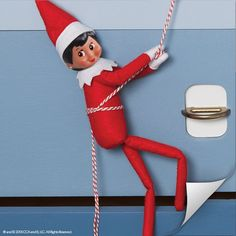 Swing into holiday fun with the Scout Elves at Play tool kit! This kit is chock full of tips and tools your scout elf can use to fill your home with magic and excitement. Learn more at ElfontheShelf.com! | Elf on the Shelf Ideas | Easy Elf on the Shelf Ideas | Creative Elf on the Shelf Ideas
