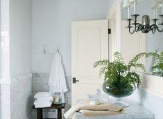 20 Ways to Update the Look of Your Bathroom: Benjamin Moore Bathroom Paint Colors: Spa Retreat Neutral Bathroom Paint, Bathroom Colors, Bathroom Ideas, Bathroom Showers, Grey Bathrooms, Bathroom Designs, Beautiful Bathrooms, Benjamin Moore Bathroom, Spa Colors