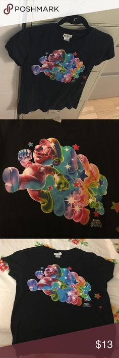 Super Mario Galaxy shirt 100% cotton, worn once and in good condition. Tops Tees - Short Sleeve