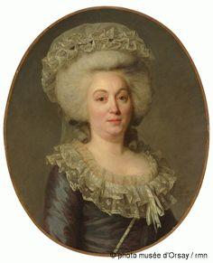 Antoine Vestier Marguerite Lachapelle en 1786