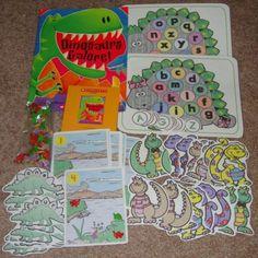 Dinosaurs - good for take home bag theme!