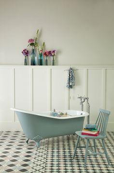The Dawlish Victorian Slipper Bath | Victorian Cast Iron Slipper Bath