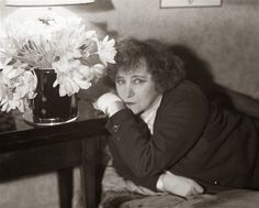 """""""You will do foolish things, but do them with enthusiasm."""" Colette, French novelist (Gigi, 1944) photo André Kertész, 1930"""