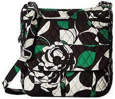 Amazon.com: Vera Bradley Triple-Zip Hipster Crossbody Purse Best Crossbody Bag Travel, Travel Bags, Cross Body Handbags, Discount Shoes, Brand You, Vera Bradley, Diaper Bag, Hipster, Zip
